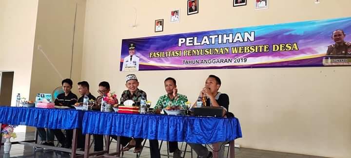 Pelatihan Admin Website di Desa Brabasan